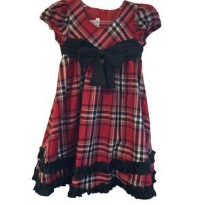 Bonnie Jean Plaid Dress